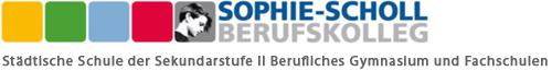 Sophie Scholl Berufskolleg Logo